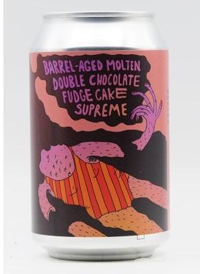 Photo of Barrel Aged Molten Double Chocolate Fudge Cake Supreme