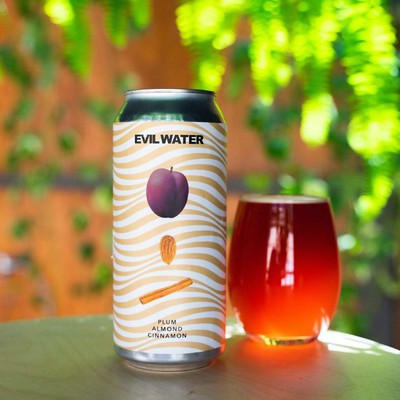 Photo of Evil Twin NYC - Evil Water Plum, Almond Cinnamon