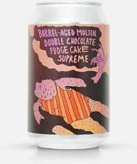Photo of Lervig Barrel-Aged Molten Double Chocolate Fudge Cake Supreme