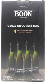 Photo of Boon Oude Gueuze Discovery Box Vat 91,92, 108, 110