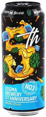 Photo of 5th Anniversary Beer #3 - Cold IPA