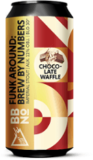 Photo of Funky Fluid Funk Around Brew By Numbers    Chocolate Waffle