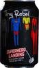 Super Hero Landing - Tiny Rebel & BrewDog logo