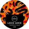 Mobberley Loco Juice CROWLER logo