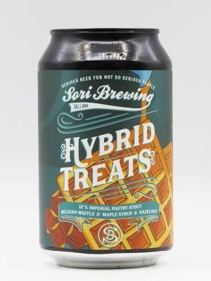 Photo of Hybrid Treats Vol.2 Belgian Waffle Hazelnut & Maple Syrup