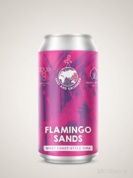 Photo of Lost & Grounded x Fuerst Wiacek x Track - Flamingo Sands West Coast DIPA