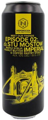 Photo of Meet Our Friends E.02 Maple Syrup, Peanut Butter & Coffee Imperial Pastry Stout [Beer Geek Madness 2020]
